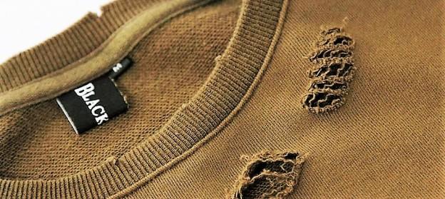 Fade-Vintage-Rip-Frayed-Cut-Sweatshurt-Khaki-