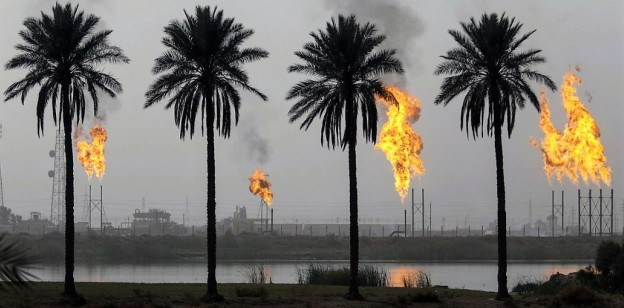 Iraq oil facility AFP