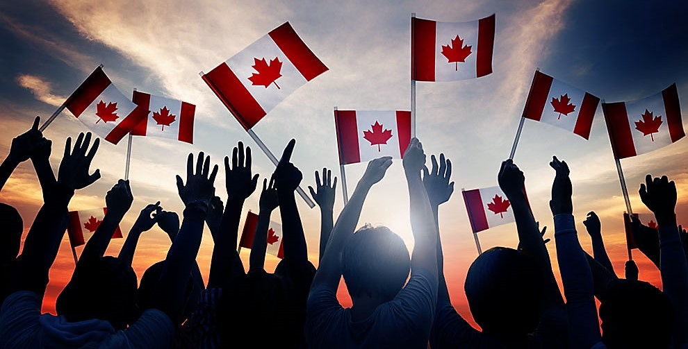 Canada Canadian Diverse Unity Togetherness Concept