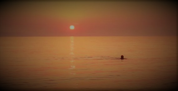 sunset swim 2