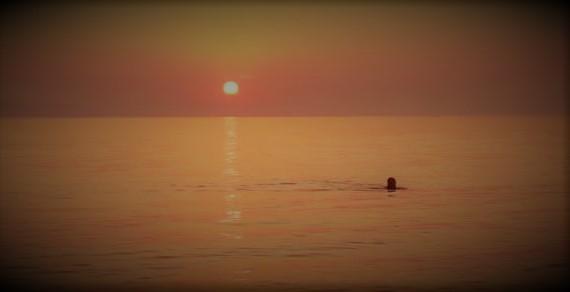 sunset swim 2
